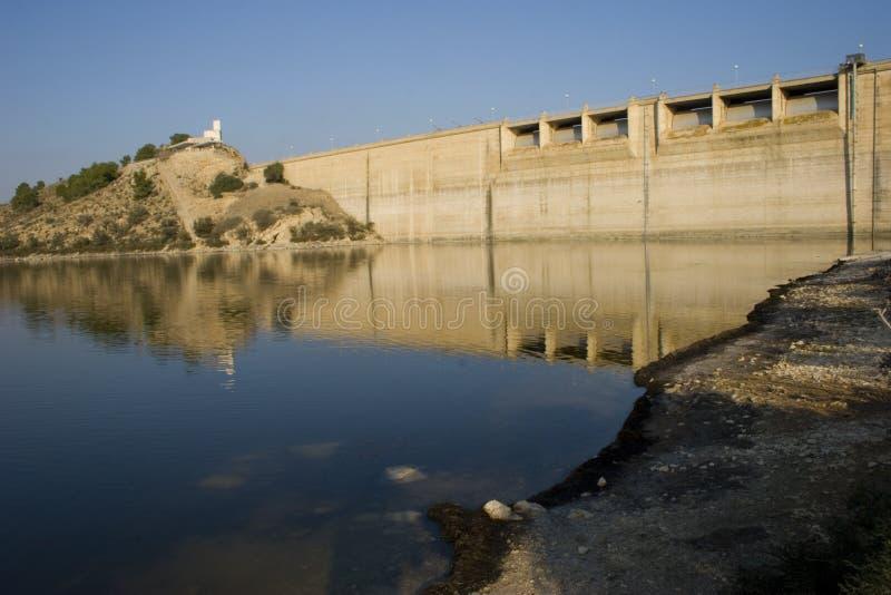 De Dam van Murcia stock afbeelding