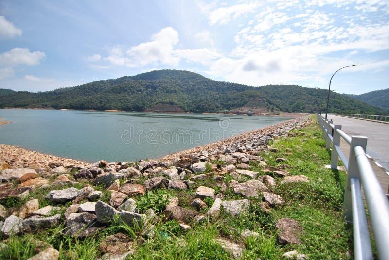 De Dam van Penangteluk Bahang royalty-vrije stock afbeelding