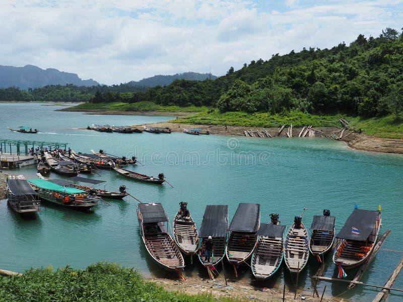 De Dam van Ratchaprapha stock foto's