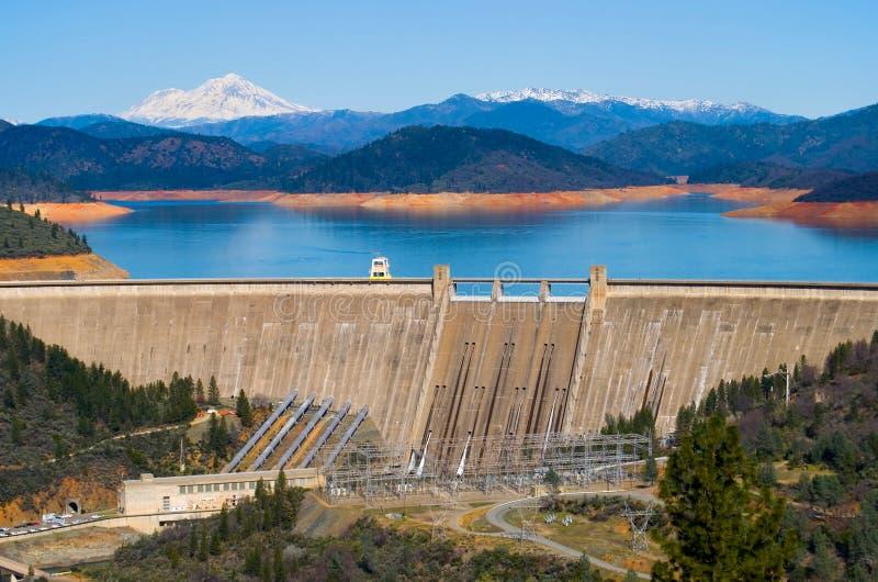De Dam van Shasta royalty-vrije stock foto's