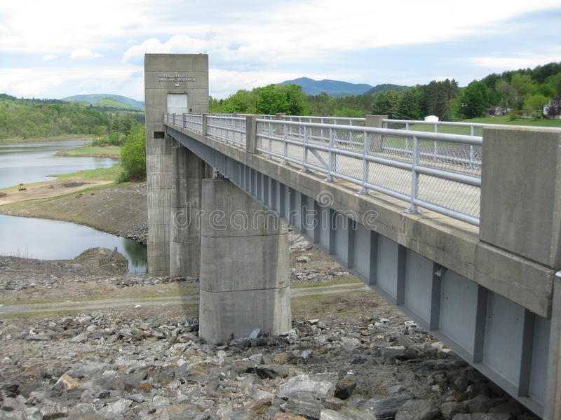 De Dam van Vermont stock foto