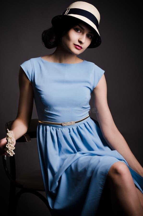 De dame van Yong royalty-vrije stock fotografie