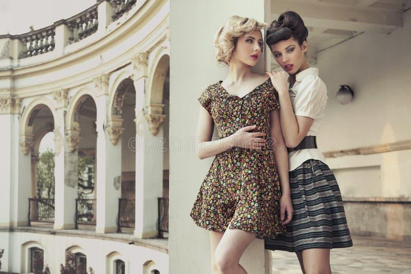 De dames van de schoonheid royalty-vrije stock foto