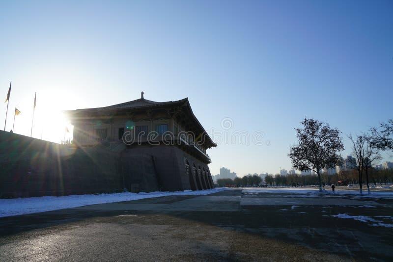 ` De Daming Palace Relic Park Xi um Shaanxi China foto de stock