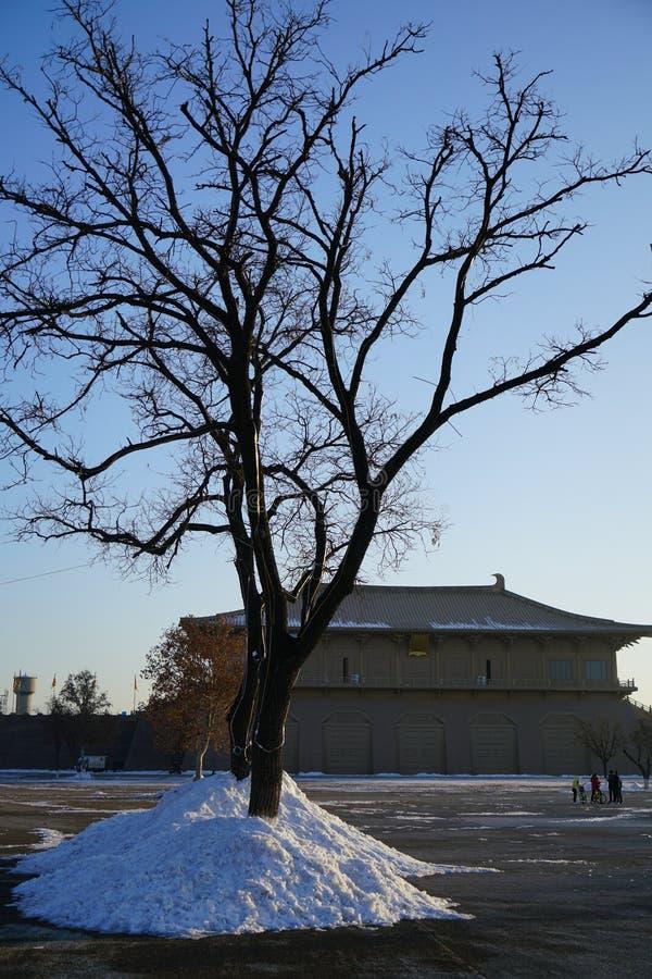 ` De Daming Palace Relic Park Xi um Shaanxi China foto de stock royalty free