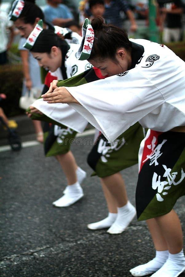 De Dans /Awa Odori van Awa royalty-vrije stock afbeelding