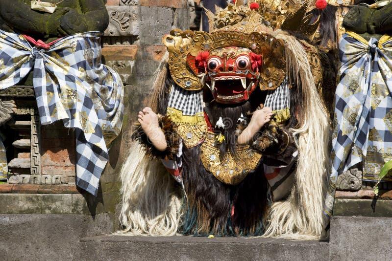 De Dans van Barong, Bali, Indonesië royalty-vrije stock foto's