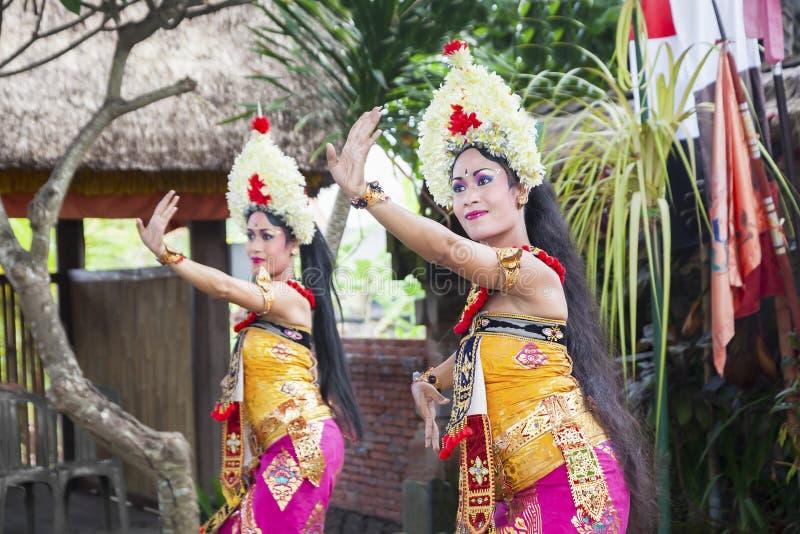 De Dans van Barong toont royalty-vrije stock afbeeldingen