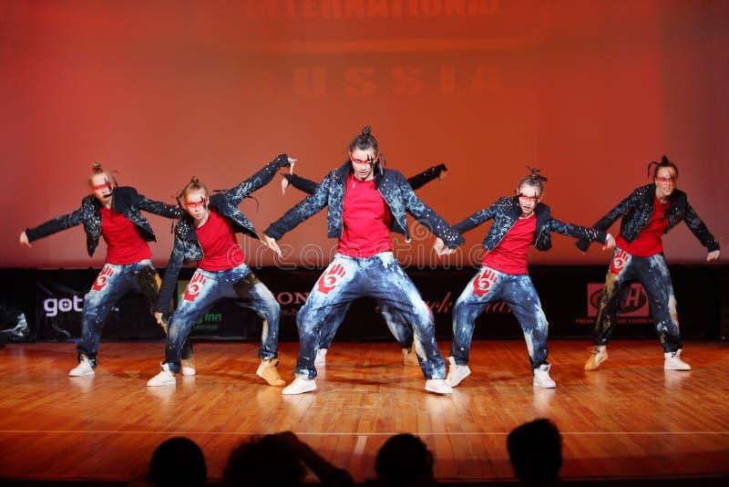 De dans van de de krachtgroep van Banda royalty-vrije stock fotografie
