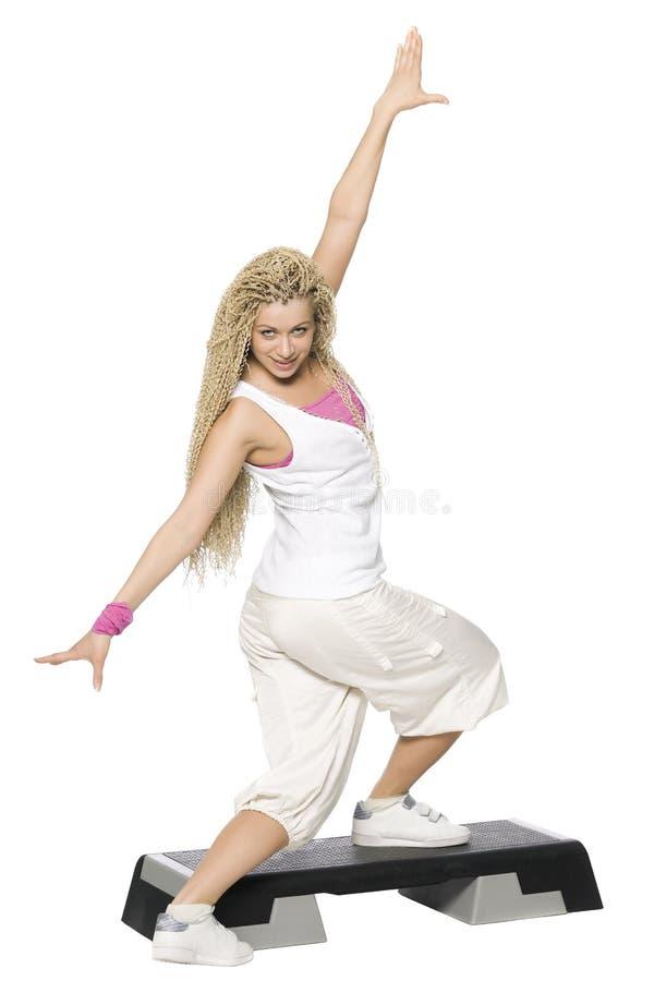 De dans van de geschiktheid stock afbeelding