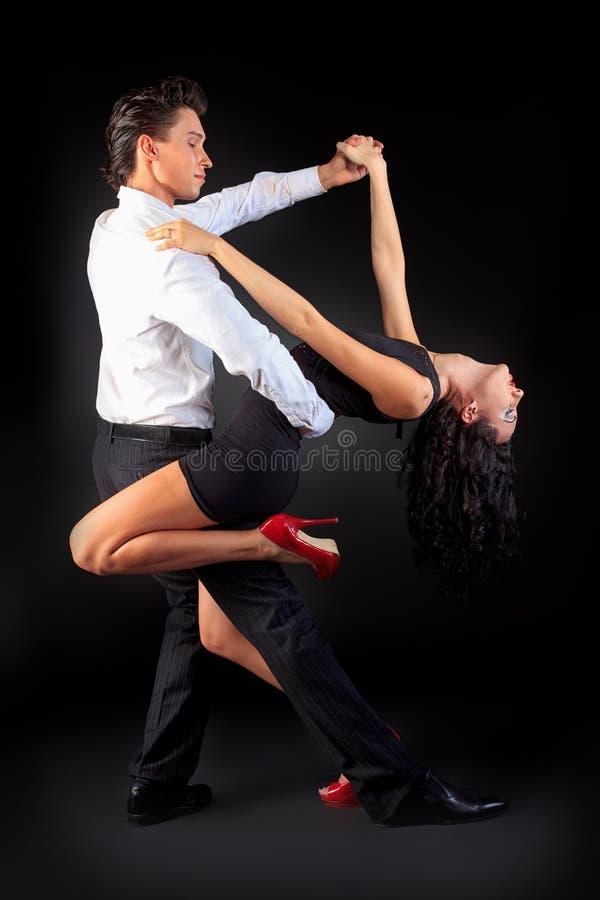 De dans van de hartstocht stock foto