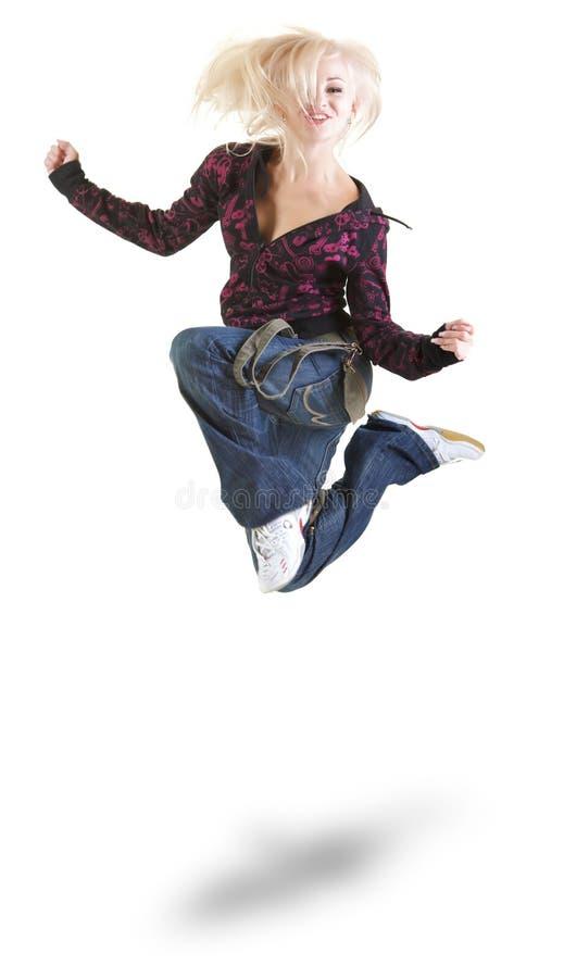De dans van de lucht stock afbeeldingen