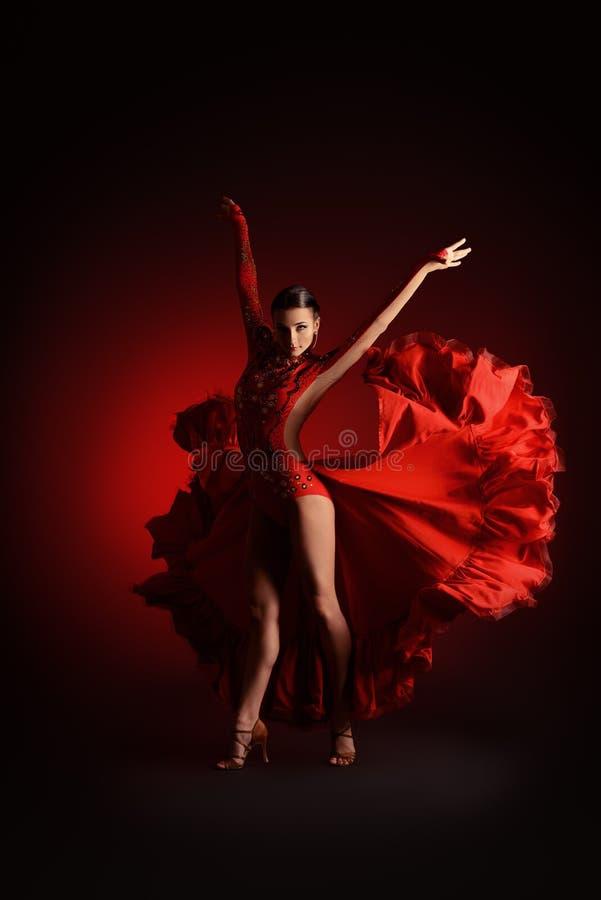 De dans van de rumba royalty-vrije stock fotografie