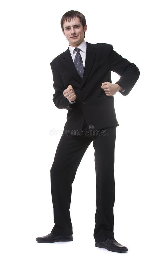 De dans van het bureau stock afbeelding
