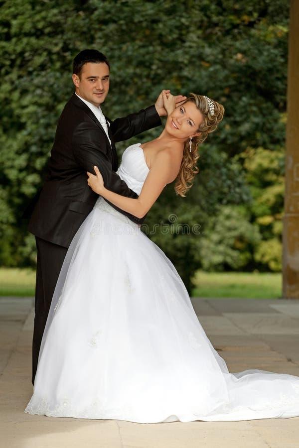 De dans van het huwelijk stock afbeeldingen