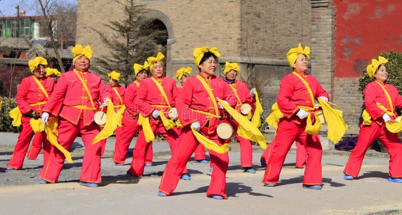 De dans van Yangko royalty-vrije stock afbeeldingen