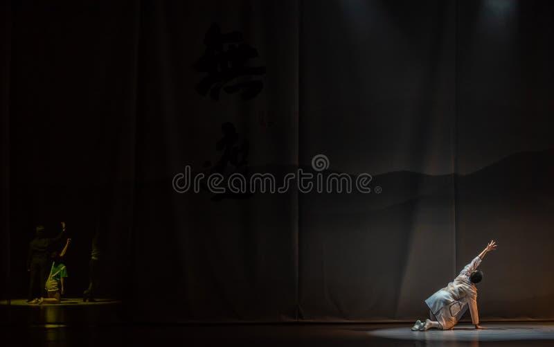 ` De danse du ` s de Prélude-Huang Mingliang aucun ` d'abri images stock