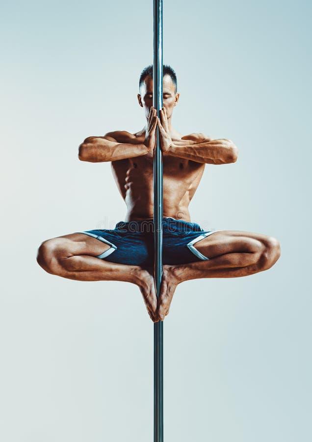De dansende mens van Pool royalty-vrije stock foto