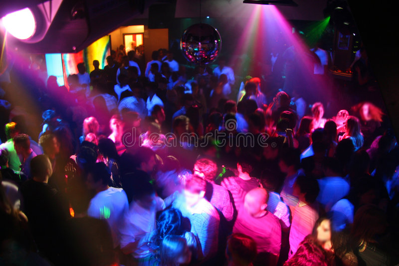 De Dansende Mensen van de disco royalty-vrije stock afbeeldingen