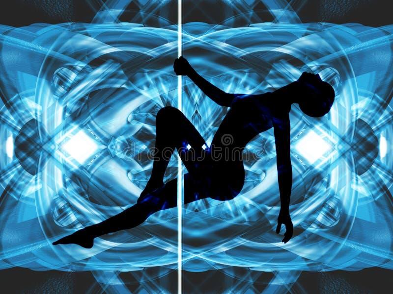 De Dansende Samenvatting van Pool vector illustratie