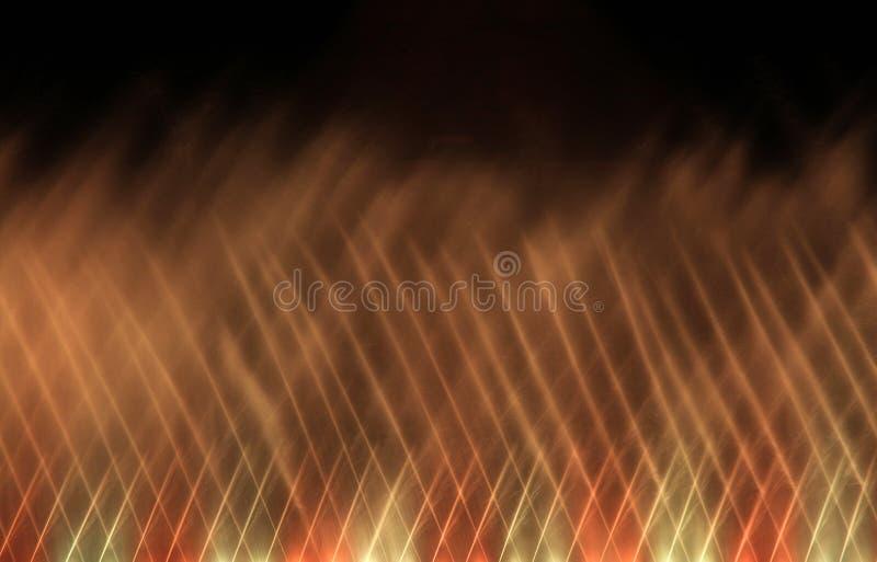 De dansende waterfontein toont vector illustratie