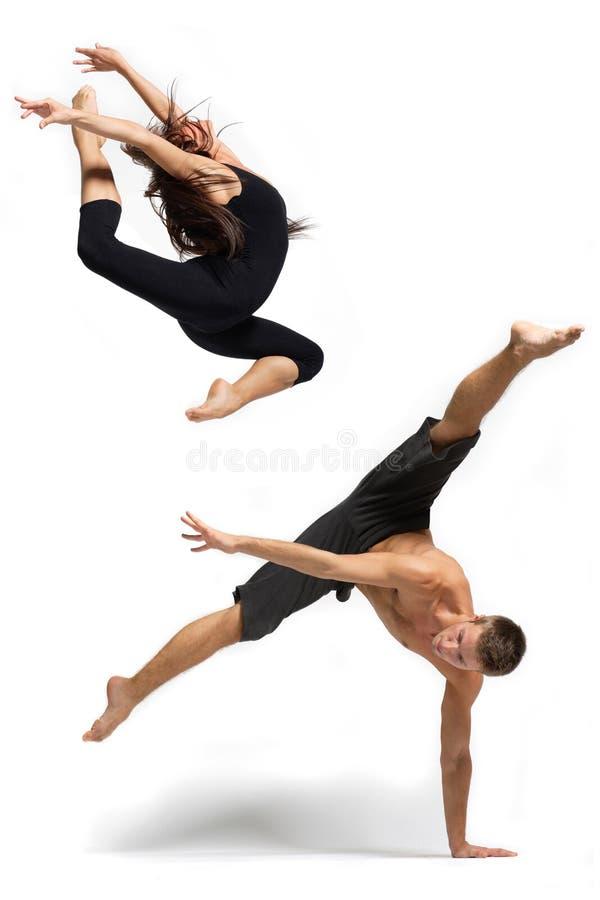 De danser stock foto's