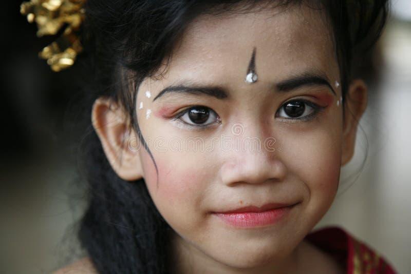 De danser van Bali stock fotografie