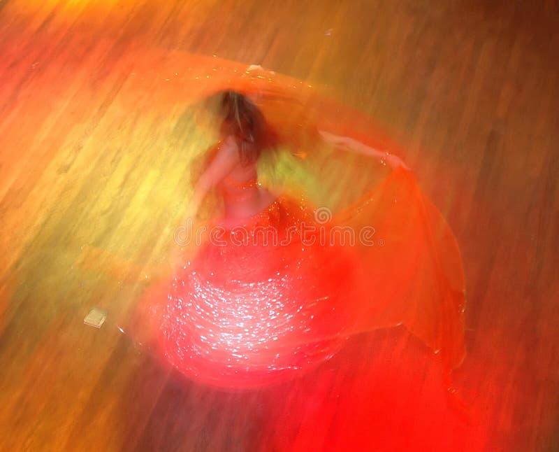De danser van de buik stock afbeelding