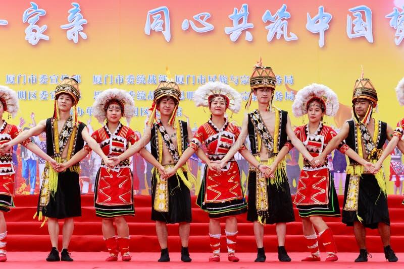 De danser van de Gaoshanminderheid