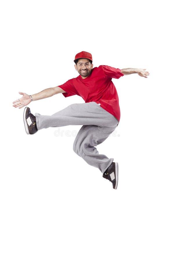 De danser van de hiphop stock fotografie