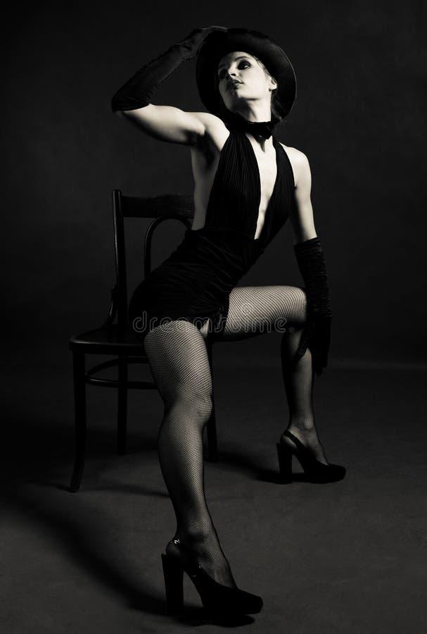 De danser van de jazz stock afbeelding