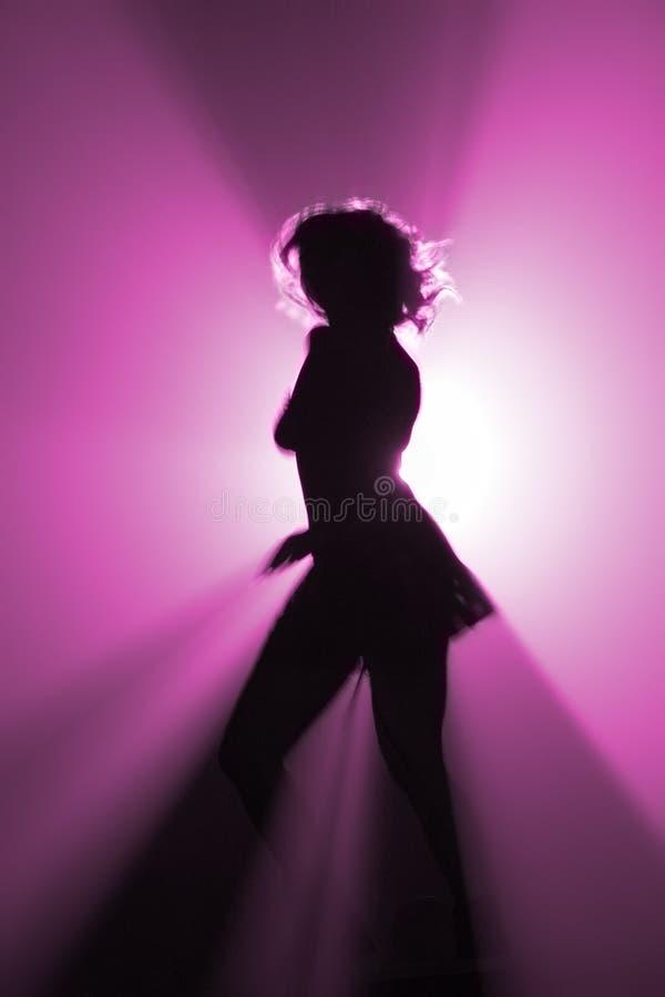 De danser van de partij stock foto