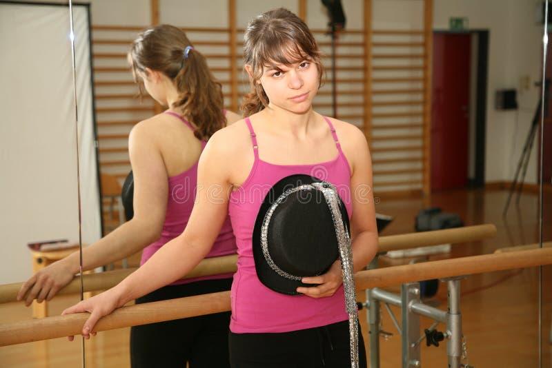 De danser van de vrouw royalty-vrije stock foto