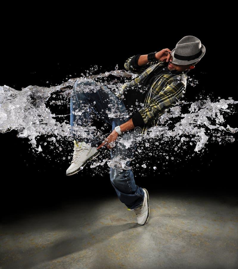 De Danser van Hip Hop stock foto's