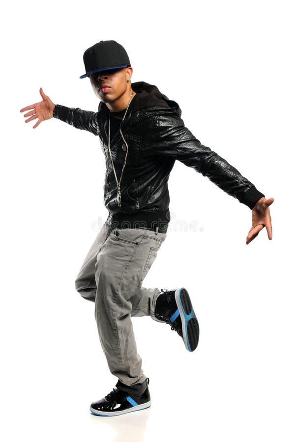 De Danser van Hip Hop stock afbeeldingen