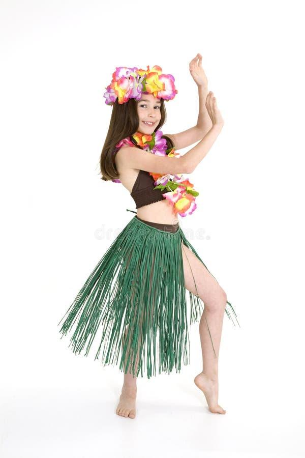 De Danser van Hula stock foto's