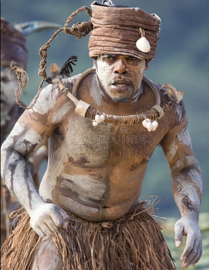 De Danser van Nieuw-Caledonië royalty-vrije stock afbeeldingen