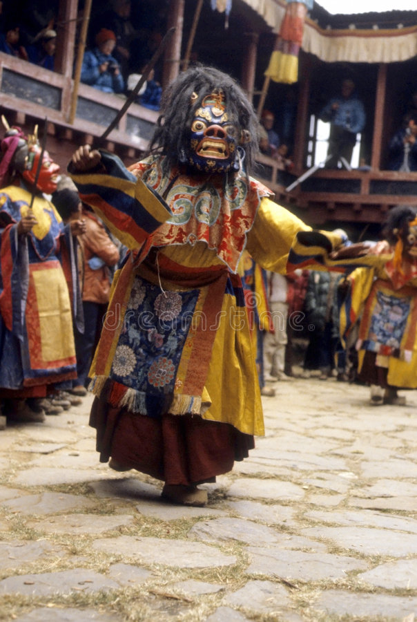 De danser van Rimdu van Mani royalty-vrije stock foto's
