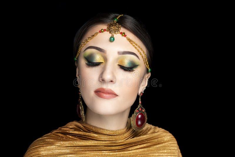 De danser van de Shamahanschoonheid Koningin van Samakhan royalty-vrije stock afbeelding