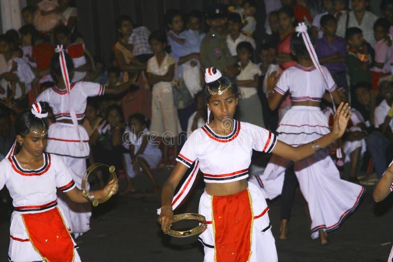 De dansers nemen het festival deel royalty-vrije stock foto