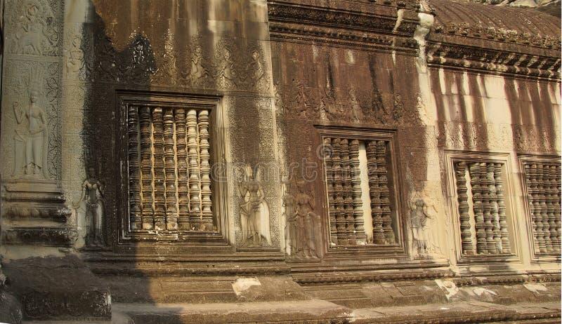 De Dansers van Apsara van Angkor Wat royalty-vrije stock fotografie