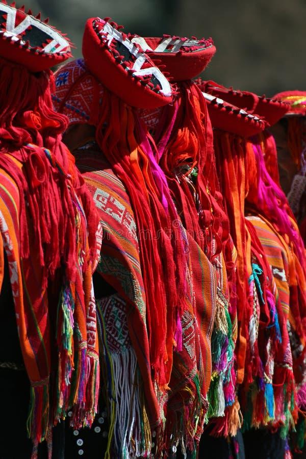 De dansers van Inca royalty-vrije stock foto's