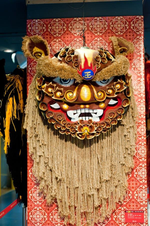 De danshoofd van de leeuw royalty-vrije stock foto