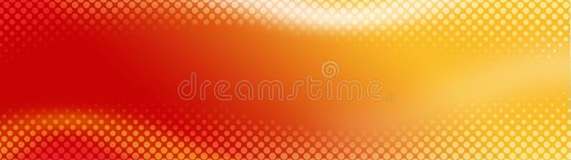 De de abstracte kopbal/Banner van het Web royalty-vrije illustratie