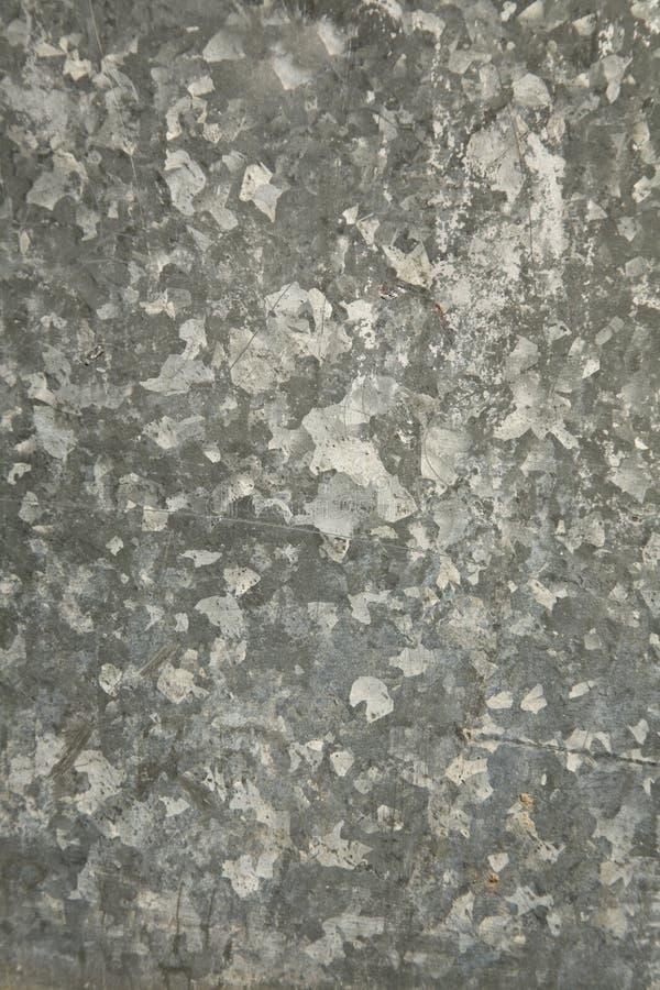De de doorstane Achtergrond/Textuur van het Metaal stock fotografie