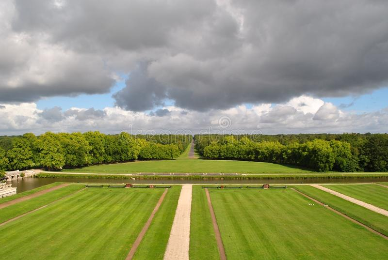 In de de Loire-Vallei royalty-vrije stock foto's