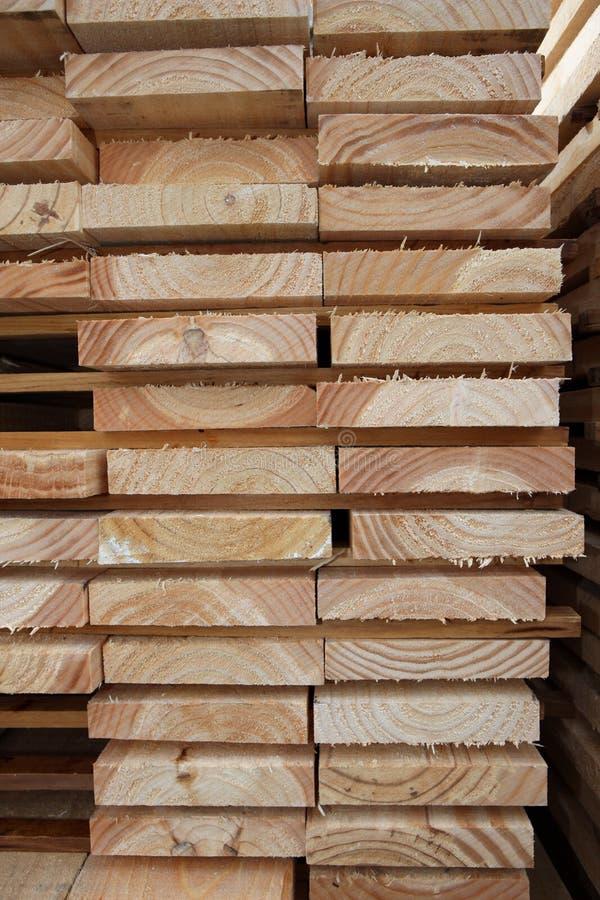 De in de ovene gedroogd Planken van het Hout royalty-vrije stock foto