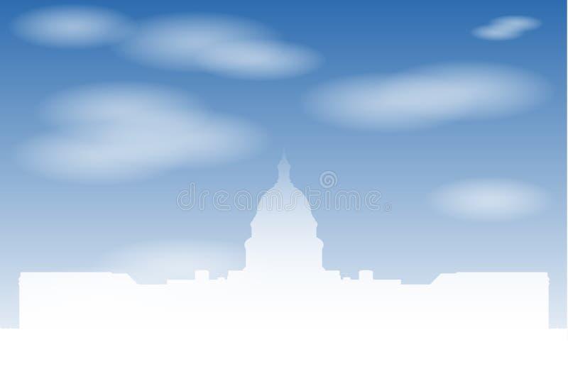 De de staatsbouw van het Capitool