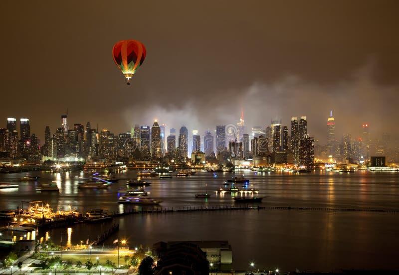 De de Stadshorizon van New York royalty-vrije stock foto's