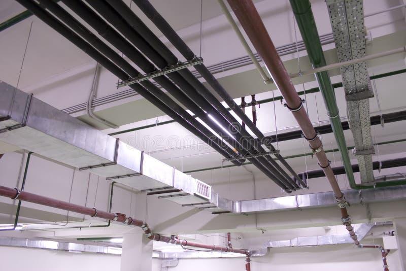 De de techniekdiensten van de ventilatie stock afbeelding